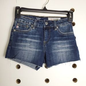 AG Adriano Goldshmied Shelby Fray Shorts